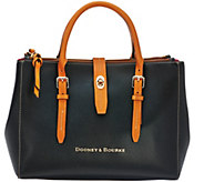Dooney & Bourke Embossed Pebble Leather Miller Satchel - A272220
