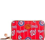 Dooney & Bourke MLB Nylon Nationals Zip Around Phone Wristlet - A281720