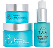 TULA Probiotic Skincare Exfoliating Treatment Mask w/ Travel Sizes - A287720