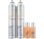 Nick Chavez Thirst Quencher Hairspray Duo w/ Travel Shamp & Conditioner - A290620