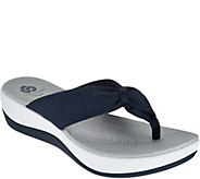 Clarks Cloud Steppers Thong Sandals - Arla Glison - A291520