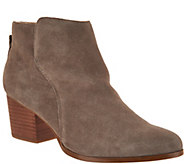 Sole Society Suede Ankle Boots with Zipper - River - A294220