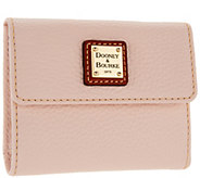 Dooney & Bourke Pebble Leather Credit Card Wallet - A297520
