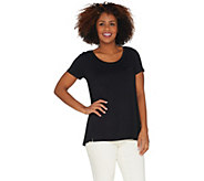 H by Halston Essentials Tee with Pocket Detail - A301020