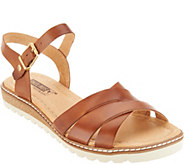 Pikolinos Leather Ankle Strap Sandals - Alcudia - A305620