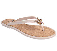 Nomad Jeweled Flip-flop Sandals - Stardust - A333220