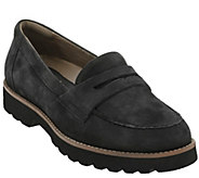 Earthies Leather Slip-on Loafers - Braga - A356120