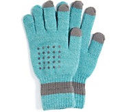 MUK LUKS Womens Touchscreen Gloves - A361420