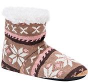 MUK LUKS Womens Bootie Slippers - A362220