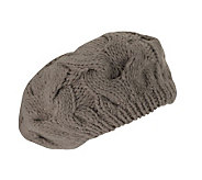 San Diego Hat Co. Womens Cable Knit Beret - A192221