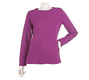 Liz Claiborne New York Essentials Long Sleeve T-shirt - A216521