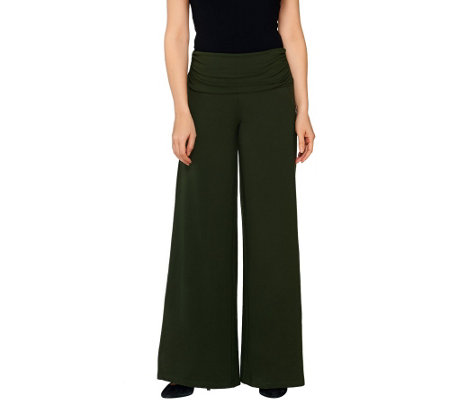 Women with Control Petite Palazzo Pants