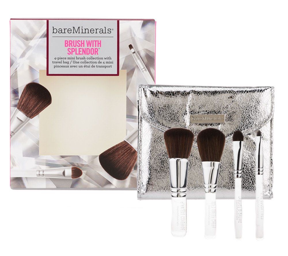 bareMinerals Brush with Splendor 4-pc Mini Brush Collection