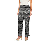 Sunny Leigh Pull-On Release Pleat Full Length Pants - A253921
