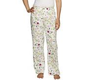 Jockey Separates Pajama Pants w/ Ruffle Waistband - A255821
