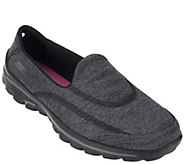 As Is Skechers GOwalk 2 Slip- on Sneakers -Upbeat - A264421