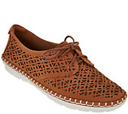 Earth Nubuck Leather Lace-up Espadrilles - Pax - A289321