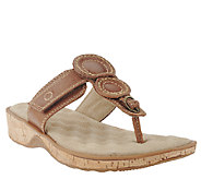 SoftWalk Leather Thong Sandals - Beaumont - A335821