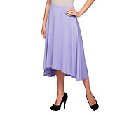 Liz Claiborne New York Pull-On High-Low Knit Maxi Skirt - A235222