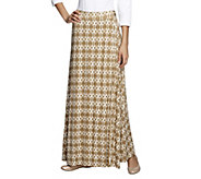 Nicole Richie Collection Petite Faux Wrap Maxi Skirt - A252222