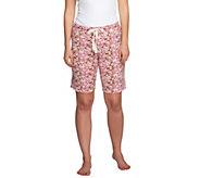 Jockey Separates Bermuda Pajama Shorts w/ Drawstring - A255822
