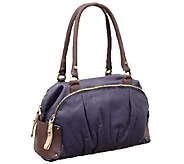 orYANY Tina Soft Pebbled Leather Satchel - A256422