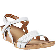 Clarks Leather Wedge Sandals - Alto Gull - A261322