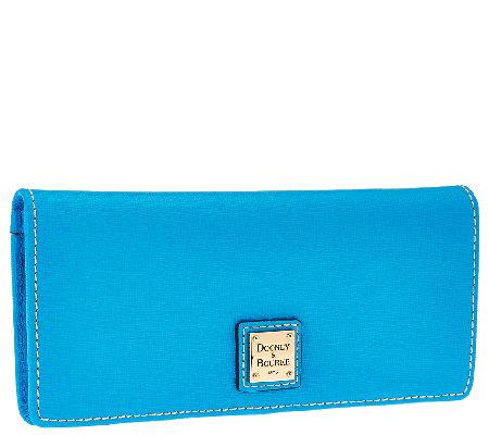 Dooney Amp Bourke Saffiano Slim Wallet A263622 Qvc Com