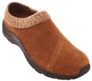 Vionic Orthotic Water-Resistant Clogs w/ Knit Collar - Arbor