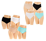 Breezies Choice of Set of 4 Seamless Panties - A271122