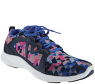 Vionic Orthotic Mesh Lace-up Sneakers - Sar