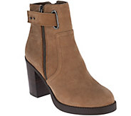 As Is Sole Society Nubuck Ankle Boots- Jessy - A281022