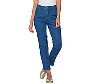 C. Wonder 5-Pocket Ankle Jeans with Frayed Hem - A287622