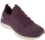Skechers Multi Knit Slip-On Bungee Sneakers - Visions - A293322