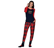 Cuddl Duds Cozy Jersey Pajama Set with Socks - A294922