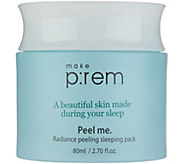 MAKE P:REM Radiance Peeling Sleeping Pack by Glow Recipe - A297022
