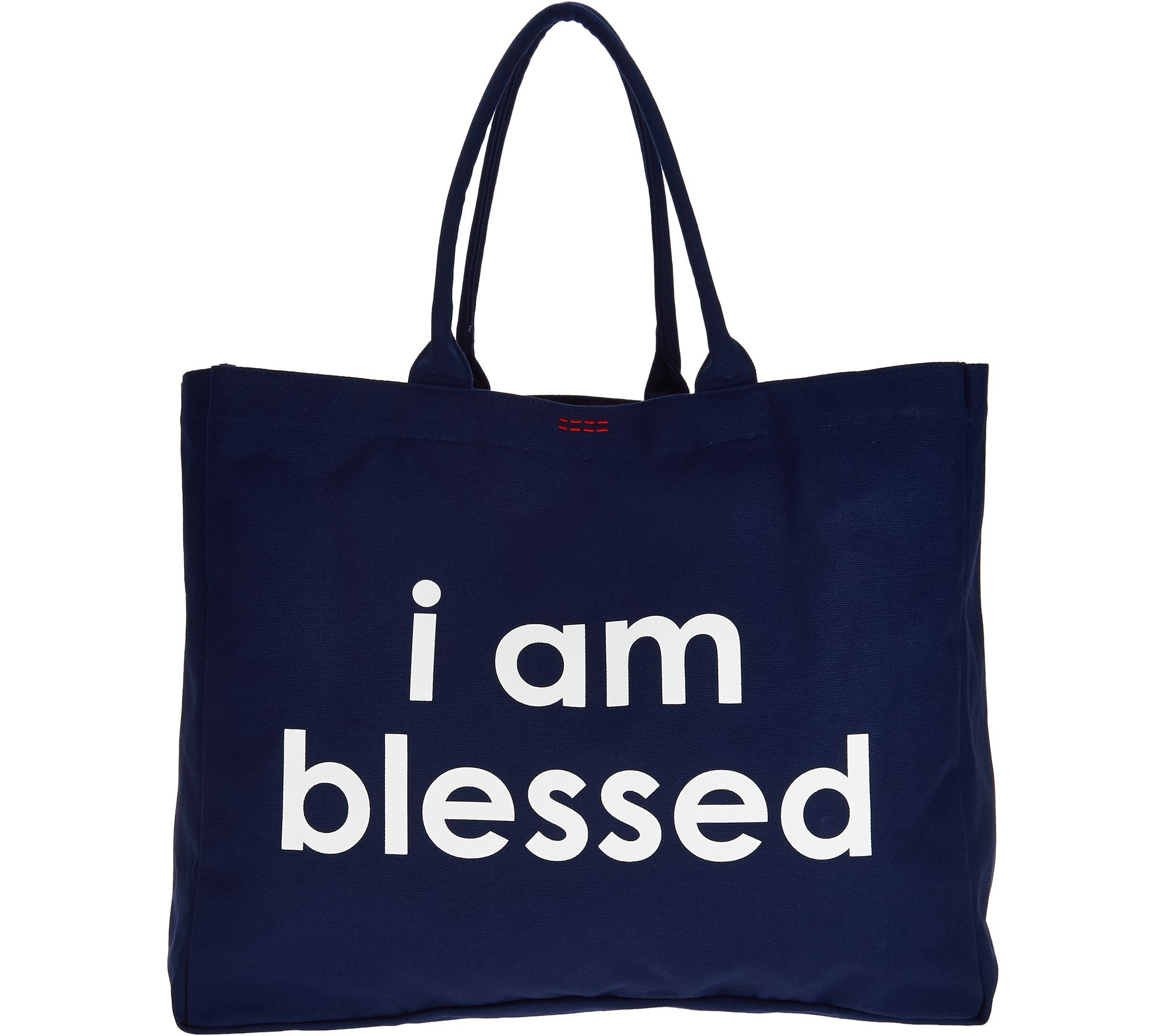 Canvas tote bags on wheels - Peace Love World Affirmation Canvas Tote A298922
