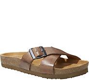 Eastland Leather Slide Sandals - Kelley - A357622