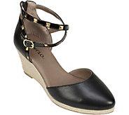 Rialto Espadrille Wedge Sandals - Campari - A358022