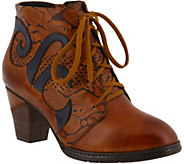 LArtiste by Spring Step Leather Booties - Neasa - A360122