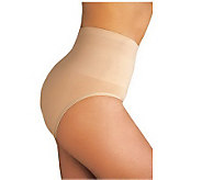 Lipo in a Box Firm Control High Waist ShapewearBrief Panty - A183623