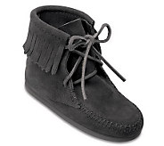 Minnetonka Childrens Ankle High Tramper Boots - A209223