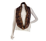 Faux Fur Infinity Scarf by VT Luxe - A219123
