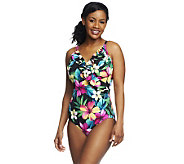 DreamShaper by Miraclesuit Ruffle Mio One-piece Swimsuit - A232223