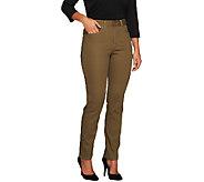 Women with Control My Wonder Jean Regular Slim Leg Pants - A236123