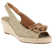 Clarks Artisan Espadrille Wedge Sandals - Petrina Corra - A251823