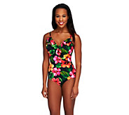 DreamShaper by Miraclesuit Ruffle Mio Pacific 1-Piece Swimsuit - A253523