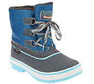 Skechers Highlanders Lace Up Winter Boots - Polar Bear - A261023