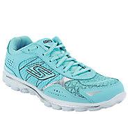 As Is Skechers GOwalk 2 Lace-up Walking Sneakers- Flash - A269923