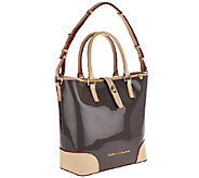 As Is Dooney & Bourke Claremont Patent Cayden Shopper - A270623